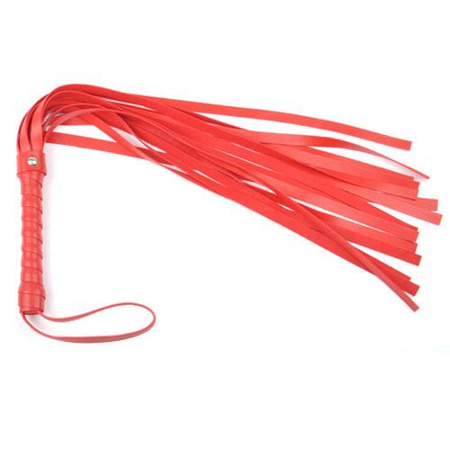 Image of Flogger pisk i rød
