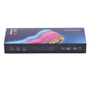 G-Punkt vibrator med 10 hastigheder (USB Genopladning) lukket æske