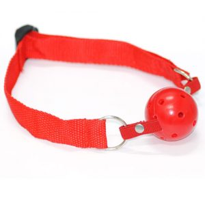 begynder Gag ball rød