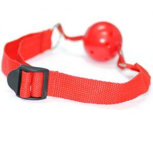 Simple Gag ball rød2
