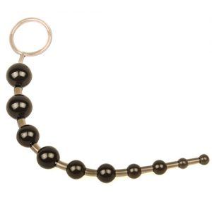 Analkæde med 10 perler