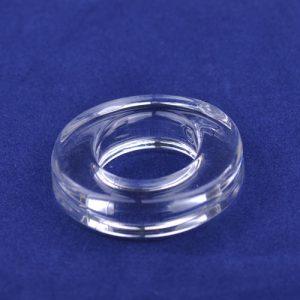 4,3cm gennemsigtig Penis Ring glat