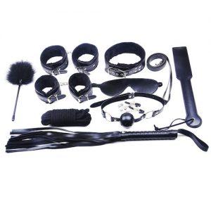 Høj kvalitets Bondage Kit med mange dele