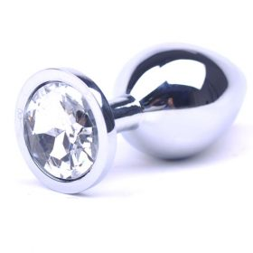 Metal plug med diamant