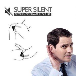 Prostata massager Sort super lydløs