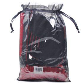 Rød og sort SM-sæt pose