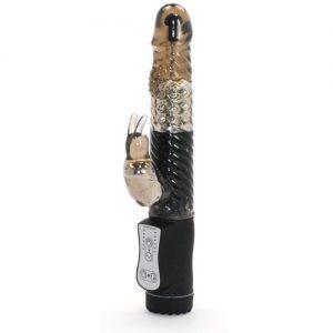 rabbit dildo Vibrator med ekstra stimuleringspunkt