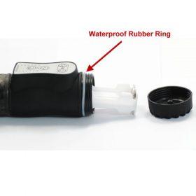 Vibrator med vandfast gummi ring