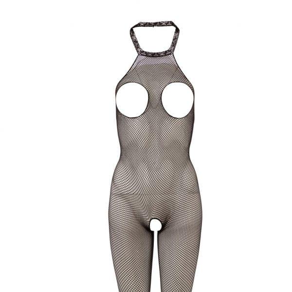 catsuit med åbning ved bryster