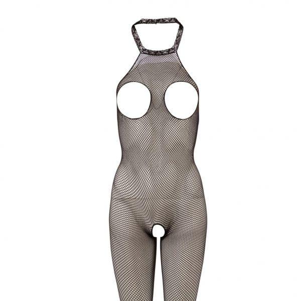 catsuit med åbning ved bryster og mellem ben