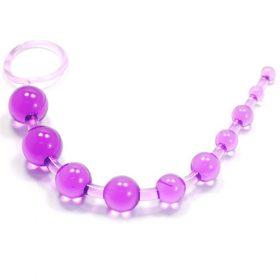 Lilla analkæde med perler i plast