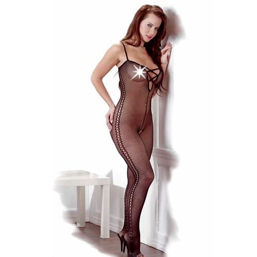 Image of   Catsuit i net - L/XL