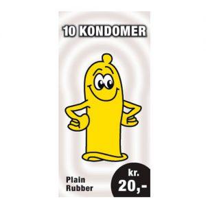 10 kondomer 20 kroner
