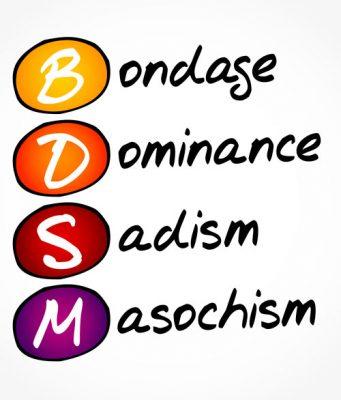 BDSM bondage, dominans, sadisme og masochisme