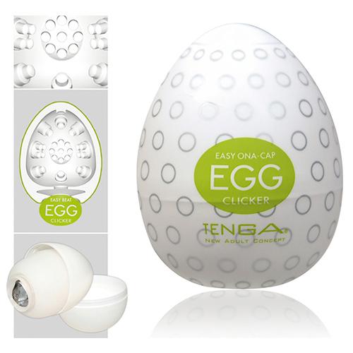 Tenga Clicker onani æg til håndjob