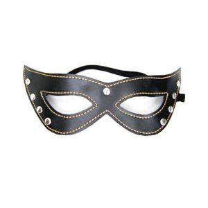 Cateye maske med sten