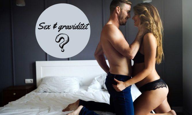 Mand og gravid kvinde skal til at have sex