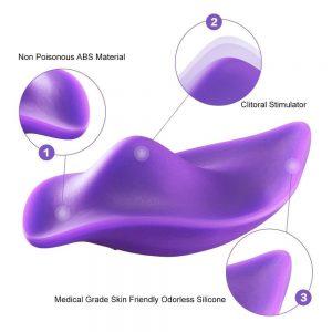 stimulering af klitoris med trusse vibrator