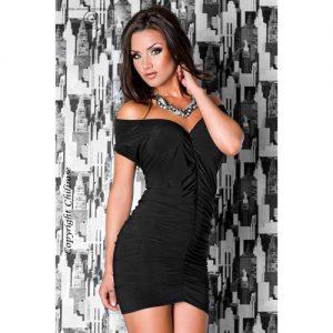 Smuk sort kort kjole