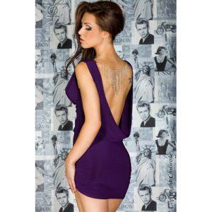 Smuk kjole med åben ryg