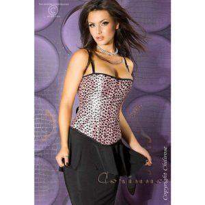 Pink leopard corsage