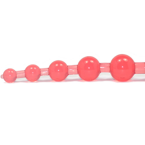 anal kæde i rød
