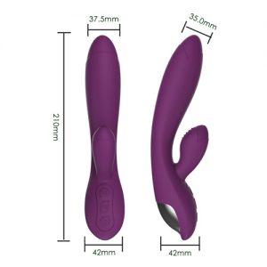 genopaladelig lilla rabbit vibrator