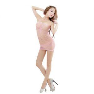 fræk gennemsigtig kjole