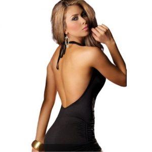 fræk sort kjole