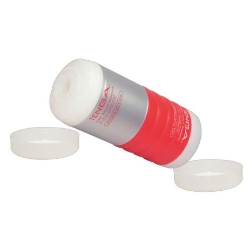 Tenga double hole cup rød