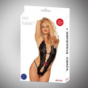 fræk blonde bodystocking