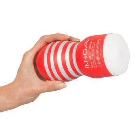 Tenga deep throat rød sleeve