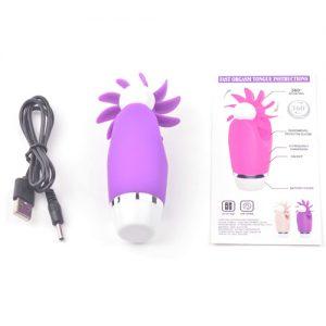 klitoris vibrator i lilla