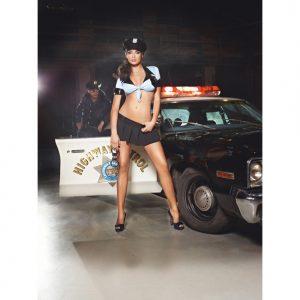 Fræk politi uniform
