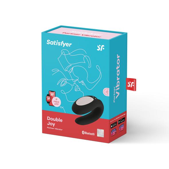 pakke til Satisfyer Double Joy app styret vibrator