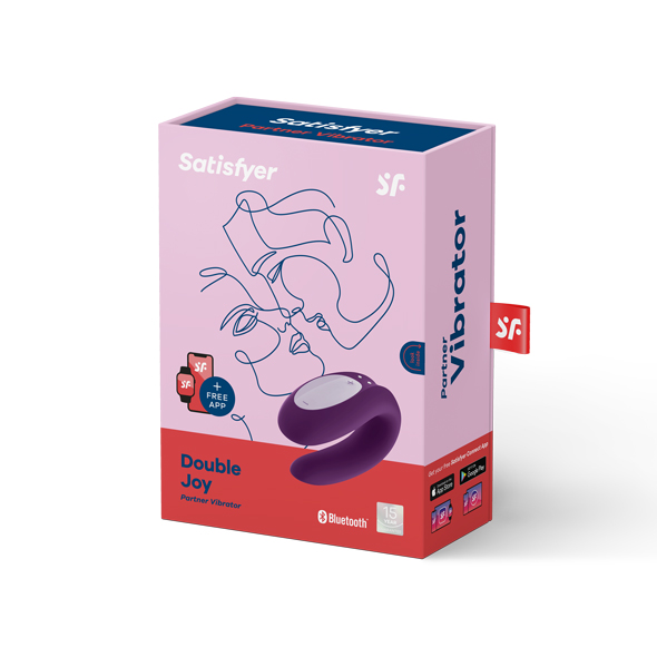 kasse til Satisfyer Double Joy par vibrator