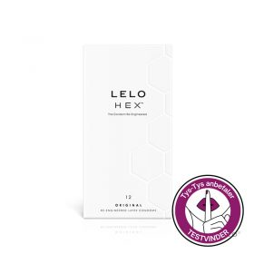 LELO hex kondomer 12 stk