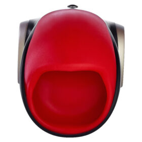 Fun Factory Cobra Libre V2 penis vibrator i rød medicinsk silikone