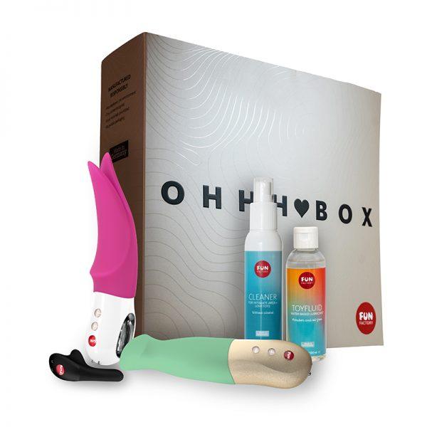 Fun Factory Ohhh Box starter kit i 5 dele