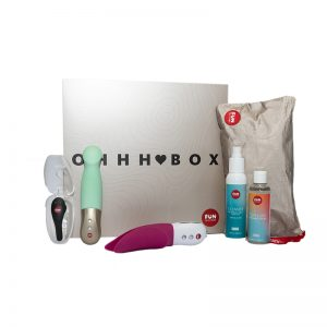 Fun Factory Ohhh Box starter kit med 3 dele sexlegetøj