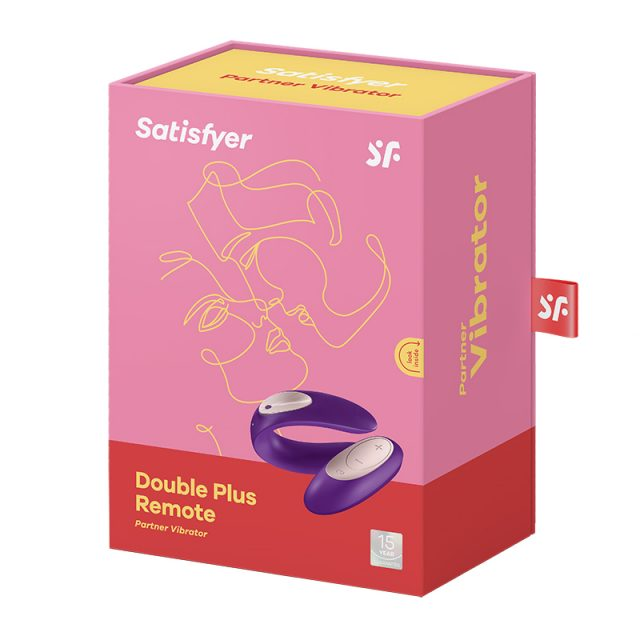 Satisfyer Double Plus Remote Par vibrator indpakningsæske