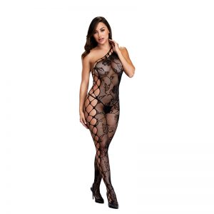 Baci One shoulder catsuit