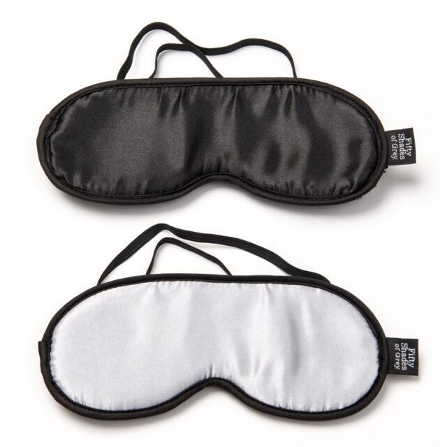 Fifty Shades of Grey Satin blindfold dobbelt pakke
