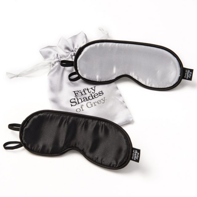 Fifty Shades of Grey dobbelt pakke blindfold