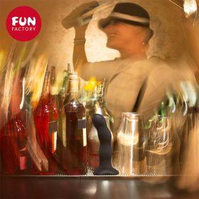 Fun Factory Bouncer Dildo med Sugekop Sort mood drink