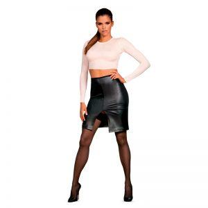 Obsessive Bossy nederdel og bluse med frække detaljer