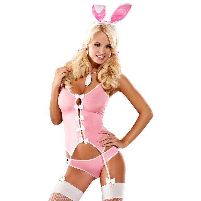 Obsessive bunny kostume