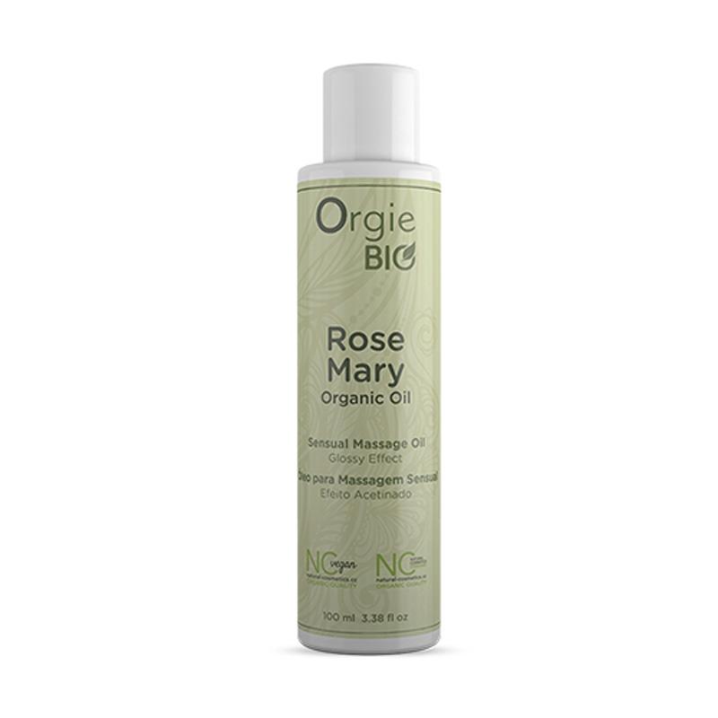 Køb Orgie Bio Rosemary Massageolie – Økologisk