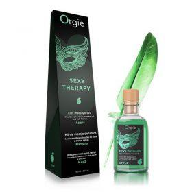 Orgie lips massage kit apple