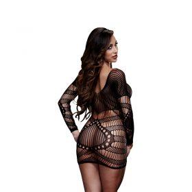 Baci Mini kjole med lange ærmer